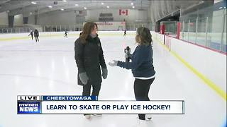 Western New York's largest learn to skate program - Video
