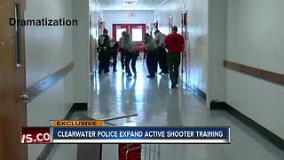 EXCLUSIVE: Clearwater Police overhauls its active shooter training - Video