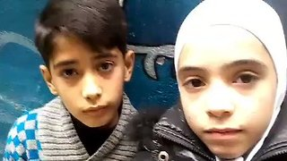 Two Girls in East Damascus Offer Perspective of Life Under Siege - Video
