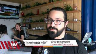 Eat tacos & help Mexican earthquake victims - Video