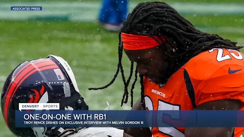 1-on-1 with RB1: What's different in year two for Broncos' Melvin Gordon