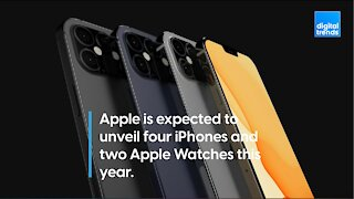Four New iPhones & Two Apple Watches Rumored