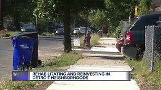 Rehabilitating and reinvesting in Detroit neighborhoods - Video