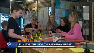 Parents fight winter blues by keeping kids busy during break - Video