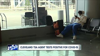 TSA officer at Cleveland Hopkins Airport tests positive for COVID-19