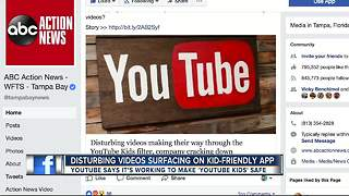 YouTube crack down on videos showing child endangerment - Video