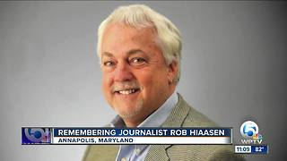 Memorial service held for Rob Hiaasen