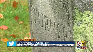 Changing a cemetery