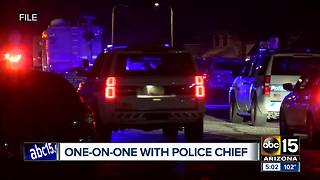 Phoenix police are concerned with increase of officer-involved shootings