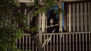 Resident injured while trying to rescue dog from duplex fire in Garfield Heights