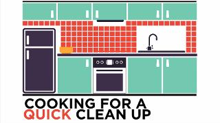 Cooking for a Quick Clean Up - Video