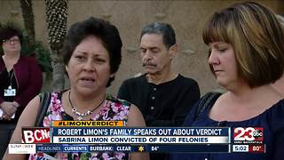 Robert Limon's family speaks out about verdict