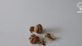 How to crack open nuts with your bare hands - Video