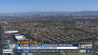 Clark County proposing expansion - Video