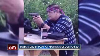 Mass shooting at Florida mosque thwarted - Video
