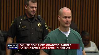 'White Boy Rick' unanimously granted parole after nearly 30 years
