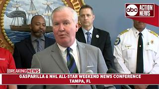 Tampa officials prepare for Gasparilla & NHL All-Star Weekend - Video