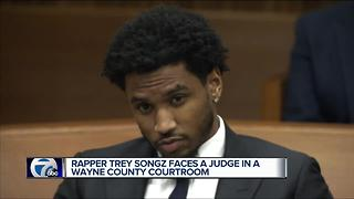 Rapper Trey Songz faces a judge in a Wayne County courtroom - Video