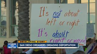 San Diego Dreamers dreading deportation - Video