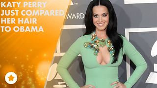 Katy Perry's political joke goes wrong - Video