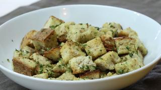 Homemade Croutons - Video
