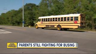 Fight over courtesy busing heads to Hillsborough County School Board meeting - Video