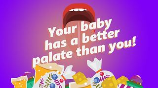 Is your baby a fussy eater? Nope, just better taste! - Video