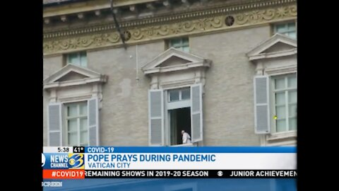 POOF! POPE'S DISAPPEARING POWER CAPTURED