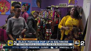 Black Panther Pop up