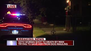 Neighbor trying to save woman from dog mauling accidentally shoots, kills her - Video