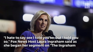 Laura Ingraham Issues Warning: 'The Plot to Take Down President Trump' - Video