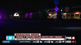 Deadly Crash in Ft Myers Closes Metro Parkway - Video