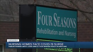 Nursing homes face COVID-19 surge