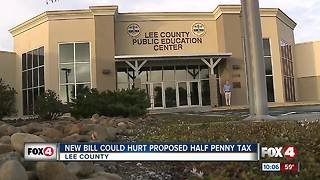 New bill could hurt proposed penny tax in Lee County