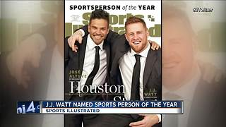 J.J. Watt named Sports Illustrated's co-Sportsman of the Year - Video