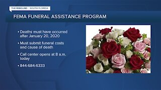 FEMA opens applications for COVID-19 funeral expenses