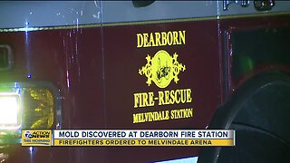 Mold discovered at Dearborn Fire Station