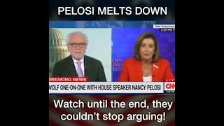 Nancy Pelosi Meltdown