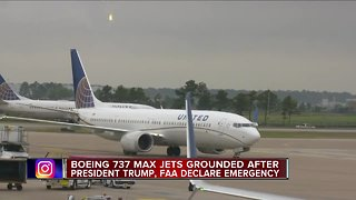 Boeing 737 Max Jets grounded after president Trump, FAA declare emergency