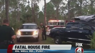 Deadly Punta Gorda House Fire - Video