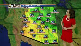 Cooler temps are on the way - Video