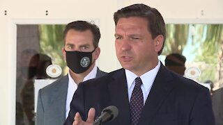 Gov. Ron DeSantis hold news conference in St. Lucie County (20 minutes)