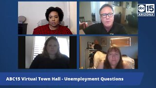 ABC15 Virtual Town Hall: Unemployment