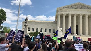Supreme Court Draws Protesters After Upholding Ban on Muslim Travelers - Video