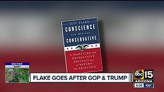 Senator Jeff Flake writes book, taking aim at Washington - Video