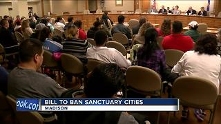 Opponents flood Wisconsin 'sanctuary cities' hearing - Video