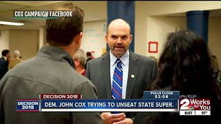 John Cox trying to unseat state superintendent