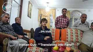 Irishman Recites Gibberish Gaelic Poem at Iranian House Party - Video