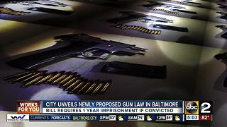 New city law calls for mandatory jail time for gun offenders - Video