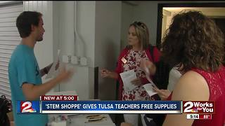 'STEM Shoppe' gives teachers free school supplies - Video